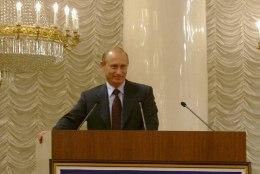 Putin paotas vihje pensionile jäämise kohta