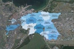 Matkamehed joonistavad vabariigi aastapäevaks Tallinna Eesti kaardi