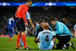 Ajalugu teinud Man City kapten vigastas 14. korda sama lihast