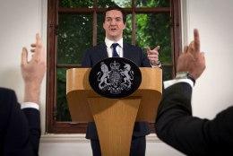 Briti rahandusminister Osborne: Suurbritannia vaatab tulevikule otsa tugevalt positsioonilt
