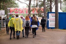 GALERII | Positivuse viimane päev algas vihmasajus