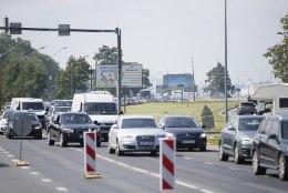FOTOD   Rattavõistlus on Pirita teele tekitanud hiigelummiku