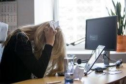 PSÜÜHIKAHÄIREGA NAINE: kui tööle lähen, siis muudavad stress ja pinge haiguse hullemaks