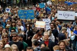 Suurbritannia valitsus lükkas tagasi petitsiooni teiseks ELi referendumiks