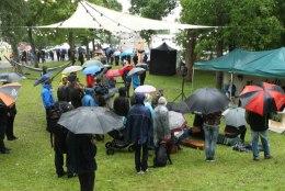 GALERII | Arvamusfestivali teine päev: huvilised trotsisid vihma