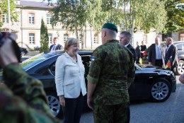 GALERII | Angela Merkel külastas NATO küberkaitsekeskust