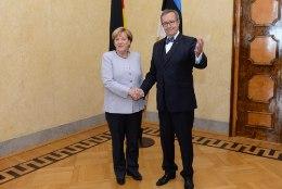 GALERII | ILVES JA MERKEL KADRIORUS: me vajame edukat Euroopa Liitu