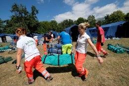 Järeltõuked segavad Itaalia maavärinapiirkonnas töötavaid päästjaid