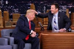 VIDEO | Trump lubas popil jutusaatejuhil oma soengut sasida