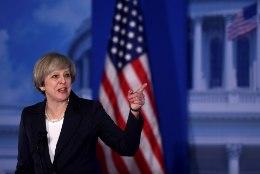 Theresa May: USA ja Ühendkuningriik peavad oma sõpru kaitsma