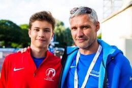 Paljude Eesti tippsportlaste lapsed rühivad vanema jälgedes samuti tippu