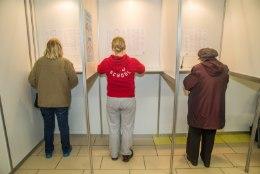 Viimane valimisjaoskond edastas oma hääled kümme minutit enne kahte varahommikul