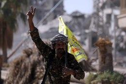 ÜKS LAHING ON LÄBI: Raqqa on ISISe käest lõpuks ometi tagasi võidetud