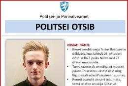 Politsei otsib 20-aastast Renet Joosepit
