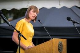 Kersti Kaljulaid andis stiilse ninanipsu Hannes Võrno eilsele sõnavõtule