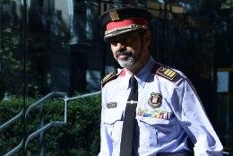 Kataloonia politseiülemat süüdistatakse riigivastases tegevuses