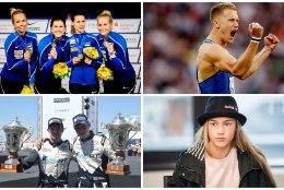 SPORDISÜNDMUS 2017 | Kas Õiglase vägev võitlus, vehklemisnaiste MM-kuld, Kelly draama või Tänaku esimene võit?