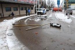 VIDEO   Kohus karistas Tartu Tasku tõkkepuude purustajat