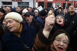 """Valgevenes protestitakse """"sotsiaalsete parasiitide maksu"""" vastu"""