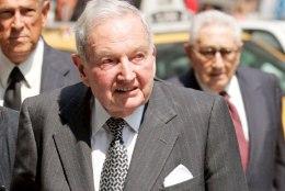 Suri USA pankur ja filantroop David Rockefeller