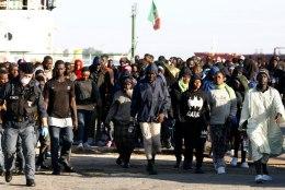 Põgenikevool Itaaliasse kasvab