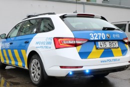Politseiautod said uue disaini