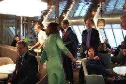 TV3 VIDEO | President Kaljulaidi ja tema delegatsiooni riigivisiit Soome algas laeval merehaigust trotsides