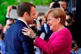 Macron ja Merkel asuvad Euroopa Liitu reformima