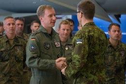 FOTOD | Saksa õhuväelased andsid Balti riikide õhruumi turvamise üle hispaanlastele