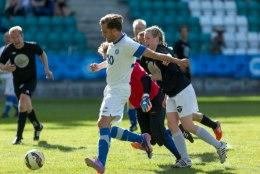 GALERII | Vaata fotosid Eesti-Soome näitlejate jalgpalli maavõistlusest
