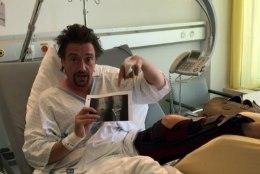 VIDEOD JA FOTOD | Raske avarii teinud Richard Hammond on taas jalul