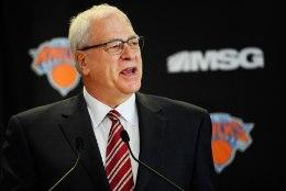 Legendaarne, aga ülimalt ebapopulaarseks saanud Phil Jackson lahkub Knicksist