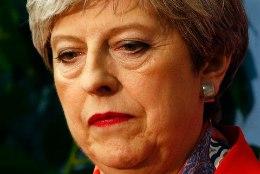 May pidi Briti valimistel parlamendienamuse kaotust tunnistama
