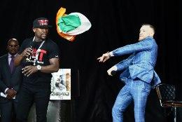 VIDEO | McGregor mõnitas Mayweatherit: sa näed välja nagu 12aastane breiktantsija!