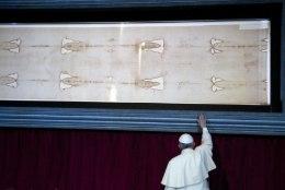 Torino surilinal võib tõesti olla Jeesuse veri?