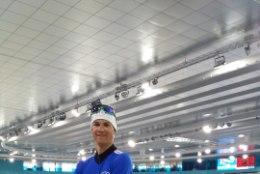 Kiiruisutaja Marten Liiv rassib, olümpiarõngad silme ees