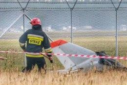 Poolas kukkus alla Läti väikelennuk, hukkusid isa ja poeg