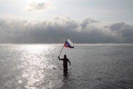 Kodurannas uinunud ukrainlane sattus Krimmi FSB piirivalve kätte
