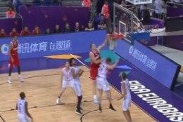 VIDEO | Kamaluga silmailu: kossu EMi päeva mehiseima sooritusega sai maha venelaste NBA mürakas