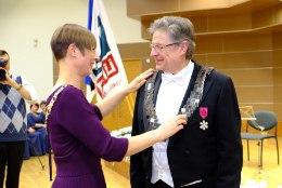 President Kaljulaid rektor Mait Klaasseni ametisse nimetamisel: Maaülikool on tark suunanäitaja maaelu arendamisel