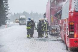 Maanteeamet: teeolud õnnetuspaigas olid rahuldavad