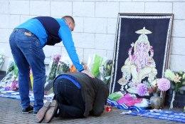 GALERII | Šokis Leicester City poolehoidjad toovad staadionile lilli