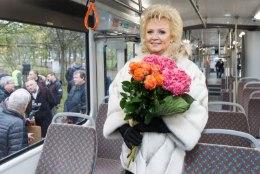 ÕL VIDEO  JA FOTOD | Anne Veski nimeline tramm saadeti Kadriorust teele