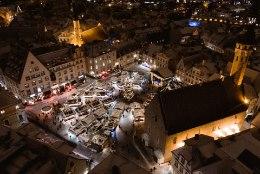 DROONIFOTOD | Tallinna kuusepuu ja jõuluturg säravad kui imedemaa