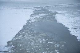 Reedest on lubatud minna jalgsi Narva veehoidla jääle