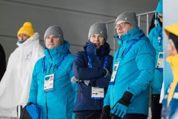 GALERII   Kersti Kaljulaid oli Eesti sportlastele toeks