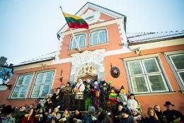 GALERII ja VIDEO   Leedu 100 sünnipäevapidu algas ühise hümnilaulmisega