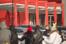 Rakvere streikijad avaldasid Soomes firma peakontori ees meelt