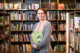 Kadri Hinrikus: usun, et lasteraamatuid võib kirjutada ka tõsistest asjadest