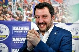 Berlusconi toetab Itaalia uue peaministrina Salvinit